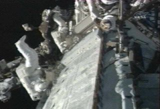 Spacewalkers Wrap Up Marathon Space Station Repair