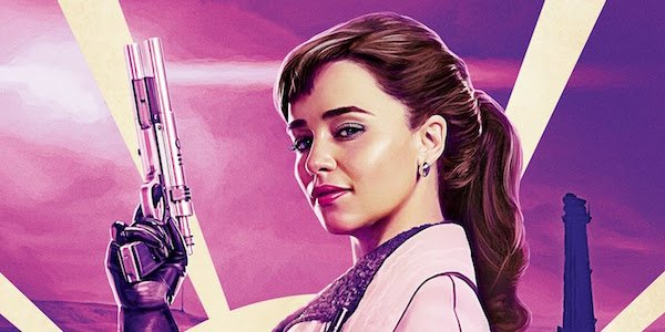 Qi'ra's poster from Solo