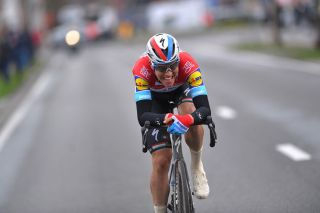 Bob Jungels on his way to victory in Kuurne