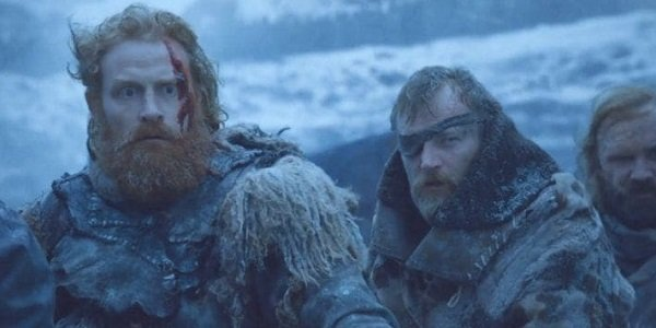 Tormund Beric Game Of Thrones HBO