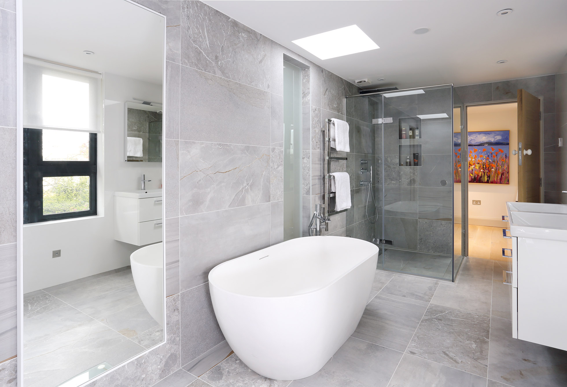En Suite Bathroom Home Decoration Interior Home Decorating