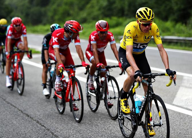 Chris Froome (Team Sky) - Tour de France stage 10 from Escaldes-Engordany to Revel