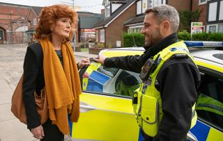 Coronation Street spoilers: Claudia Colby is questioned by the police!