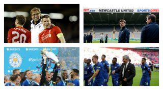 Jurgen Klopp, Mauricio Pochettino, Claudio Ranieri, Jose Mourinho