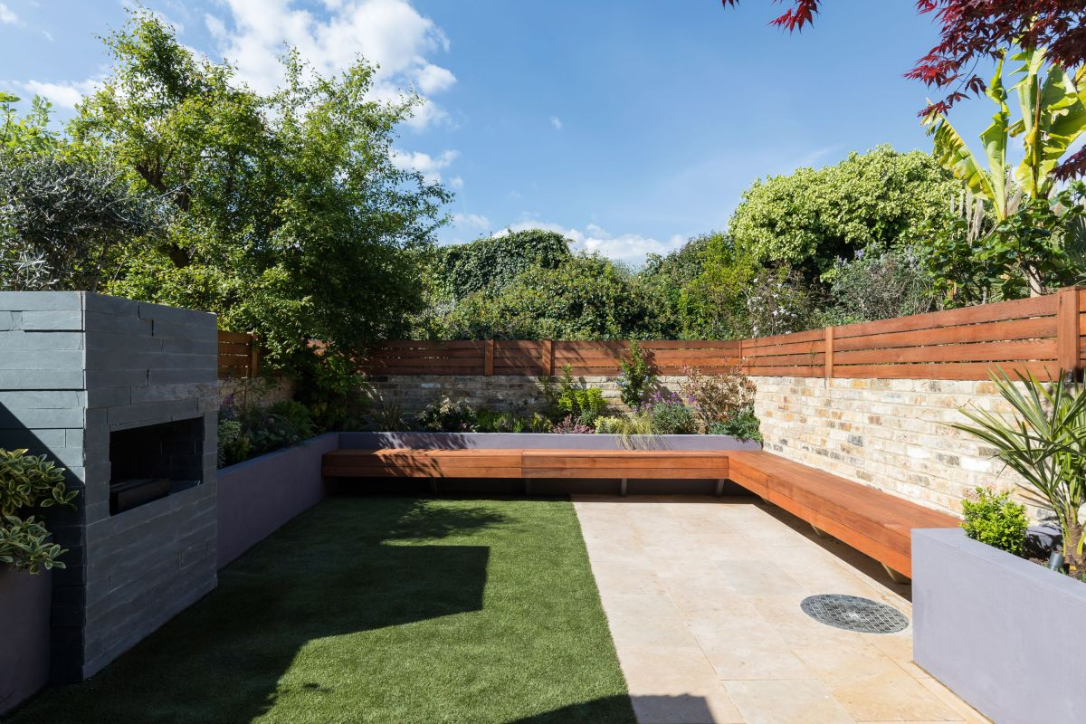 Before & after: An overgrown garden's now the perfect spill-out party space