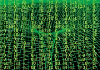 matrix background, quantum cryptography