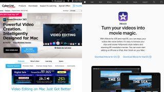 CyberLink PowerDirector Mac vs iMovie