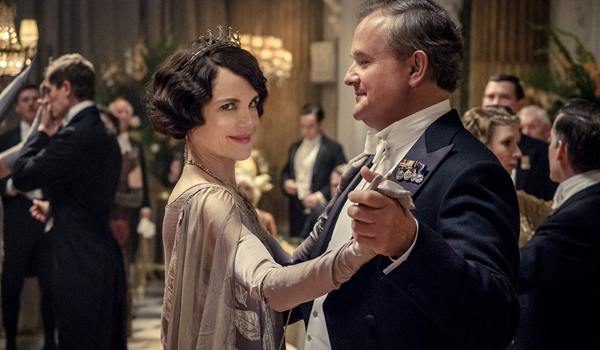 Downton Abbey Cora and Robert dancing