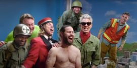 Jackass Forever Trailer Reflects On The Past Before Beating Up Johnny Knoxville And Co With Insane Stunts