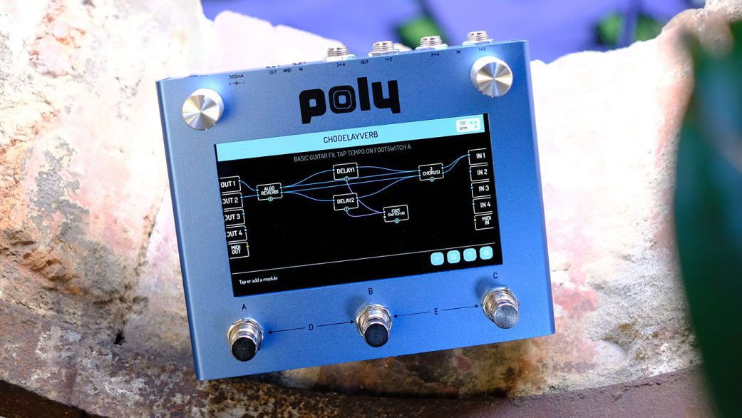 Poly Effects' Beebo puts Eurorack modular synth power in a pedal