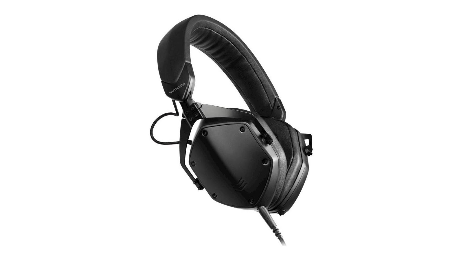 The V-Moda M-200 Studio Headphones in black