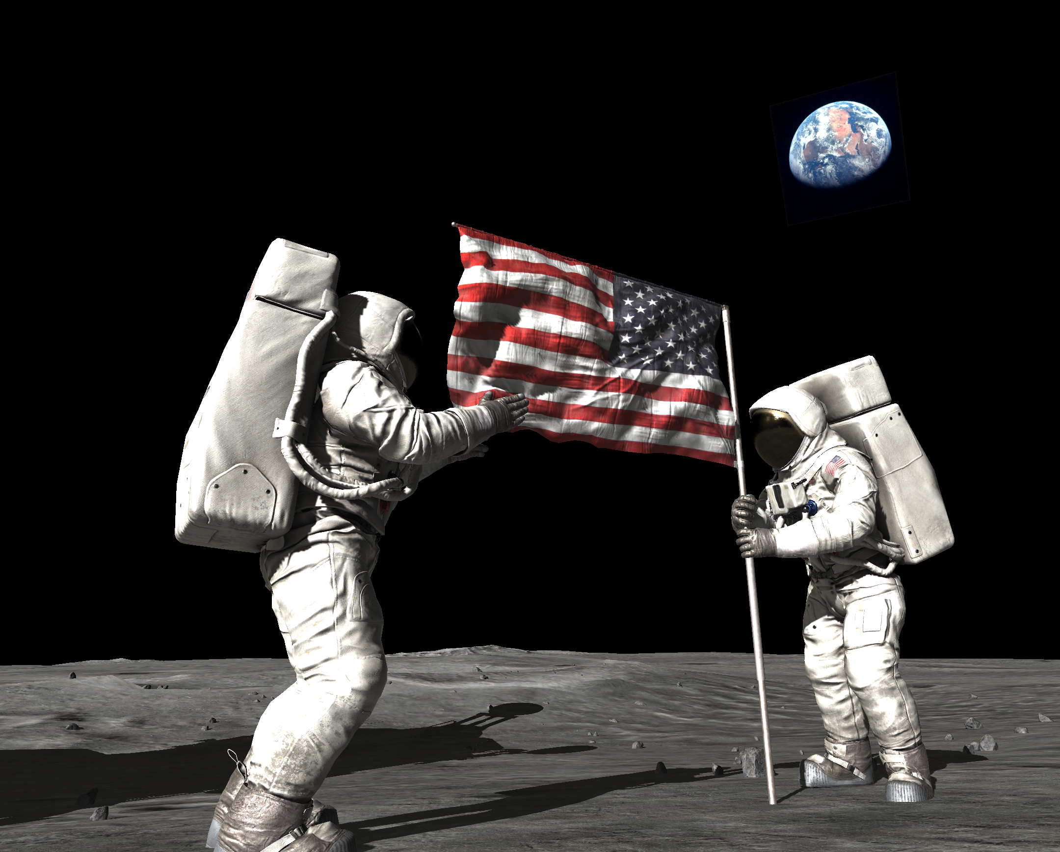 moon landing 2019 funny saiditnet - HD2160×1736