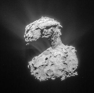 Rosetta Image of Comet 67P/Churyumov-Gerasimenko