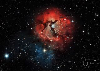 Trifid Nebula Unnikrishnan