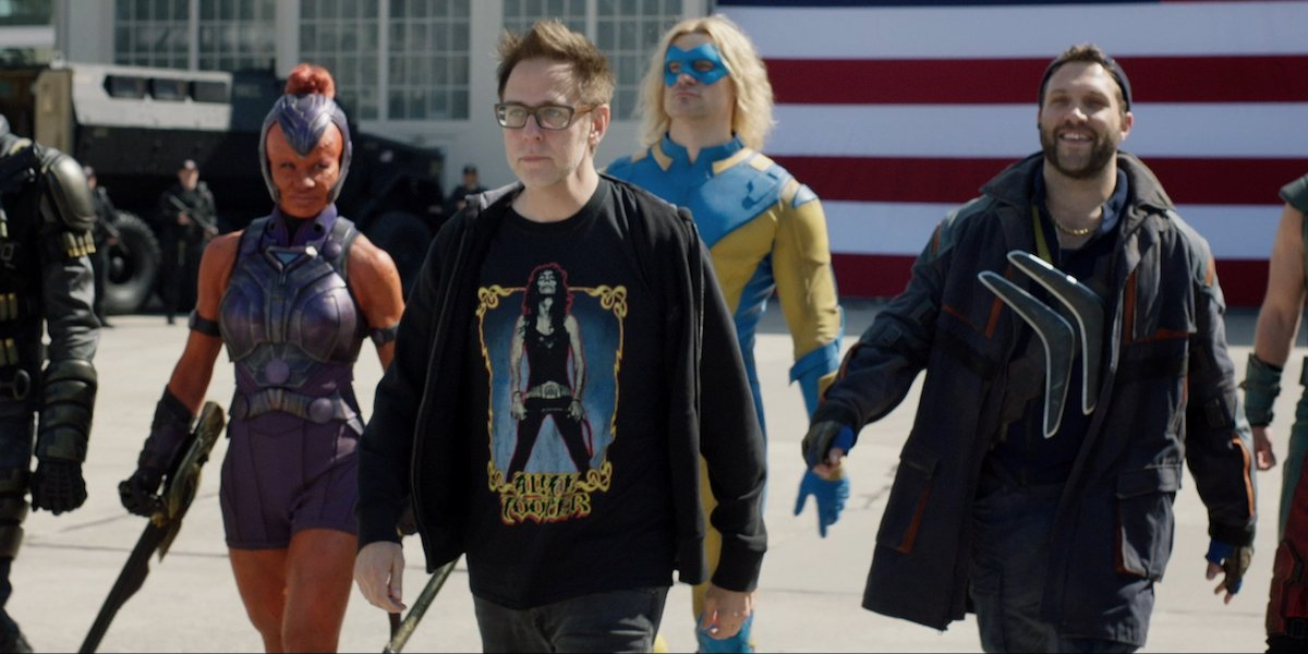 James Gunn leading The Suicide Squad