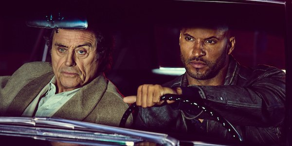 American gods ian mcshane ricky whittle starz review