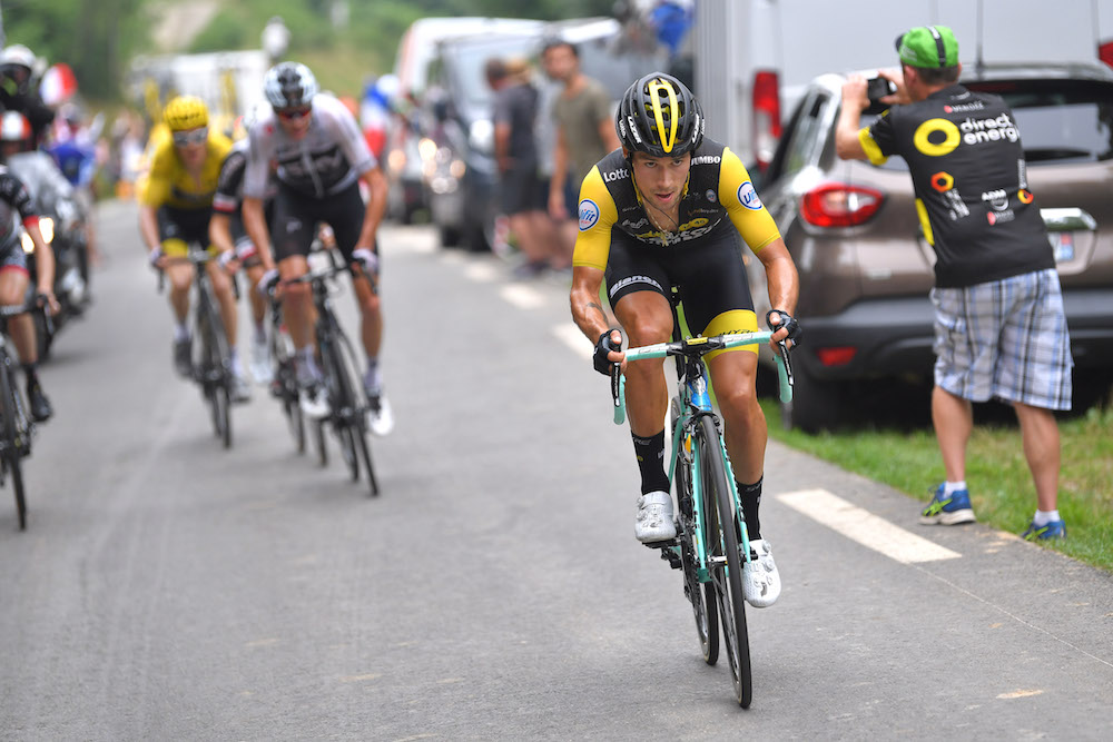Bildresultat för primoz roglic tour de france etappe 19