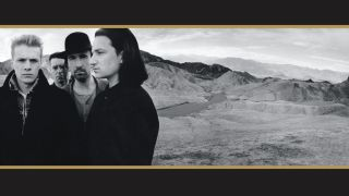 Cover art for U2's The Joshua Tree