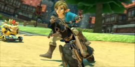 Breath Of The Wild Link Is Now Playable In Mario Kart 8 Deluxe For Free