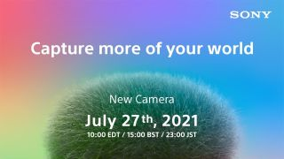 Sony is FINALLY announcing its postponed new camera tomorrow!