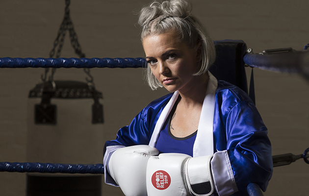 Hannah Spearritt: 'I'll look like Nicola Adams after Sport Relief boxing!'