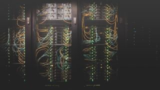 a series of servers and their cabling