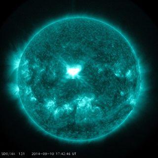 X1.6 class solar flare