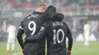 Wayne Rooney, Luciano Acosta
