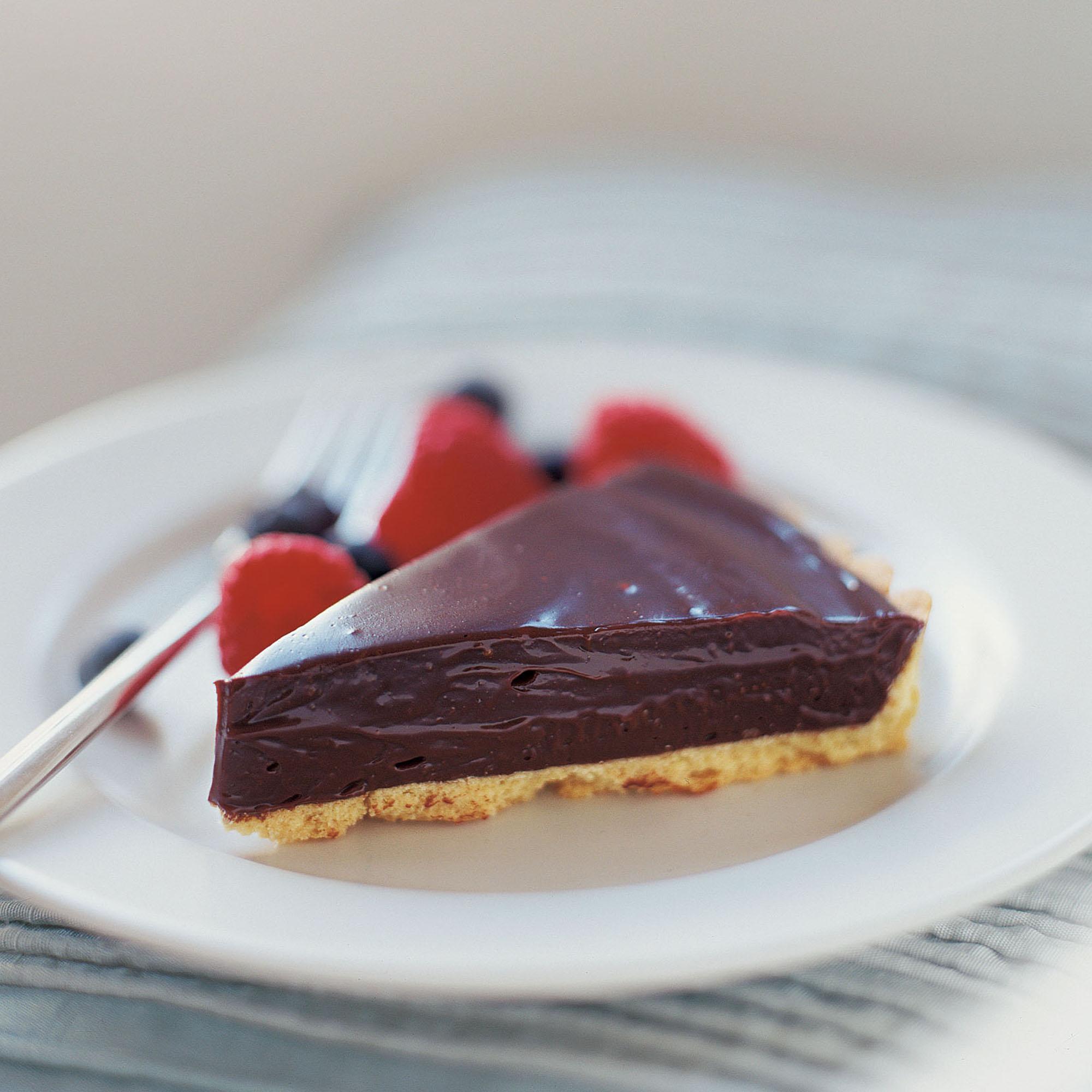 No Cook Chocolate Tart Dessert Recipes Woman Home