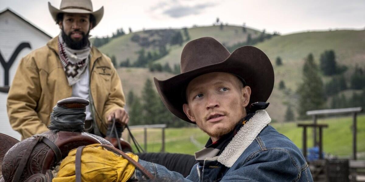 Yellowstone Colby Demin Richards Jimmy Hurdstrom Jefferson White Paramount Network