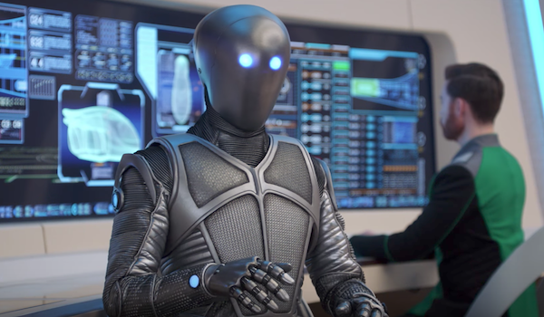 the orville isaac robot
