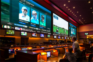 Nanolumens Installed at Race & Sports Book at Red Rock Resort in Las Vegas