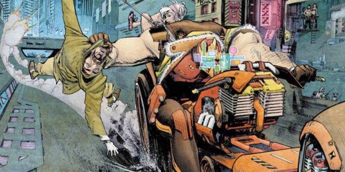Tokyo Ghost comic book artwork