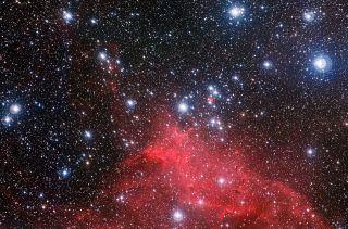 Star Cluster NGC 3572 and Surroundings