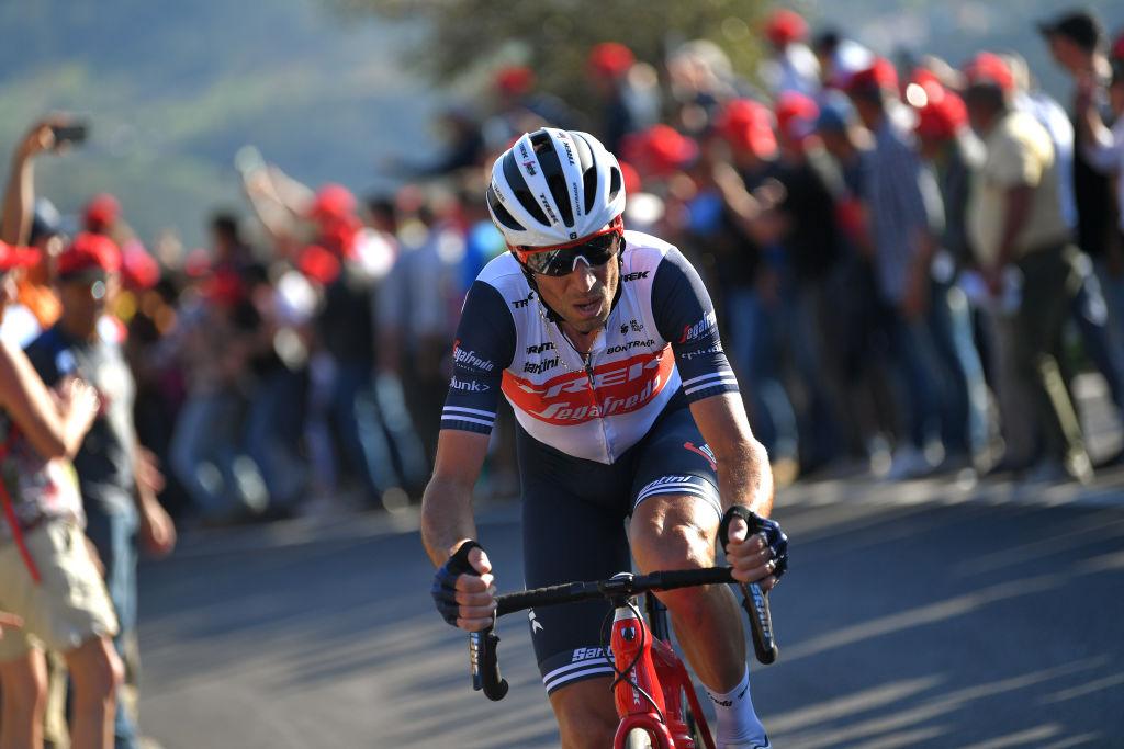Trek-Segafredo's Vincenzo Nibali at the 2020 Volta ao Algarve