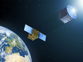 Formation-Flying Satellites Could Create Artificial Eclipses