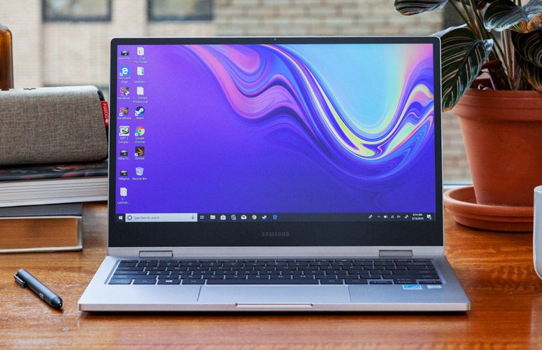 Samsung Notebook 9 Pro 13 Inch 2019 Full Review And Benchmarks Laptop Mag