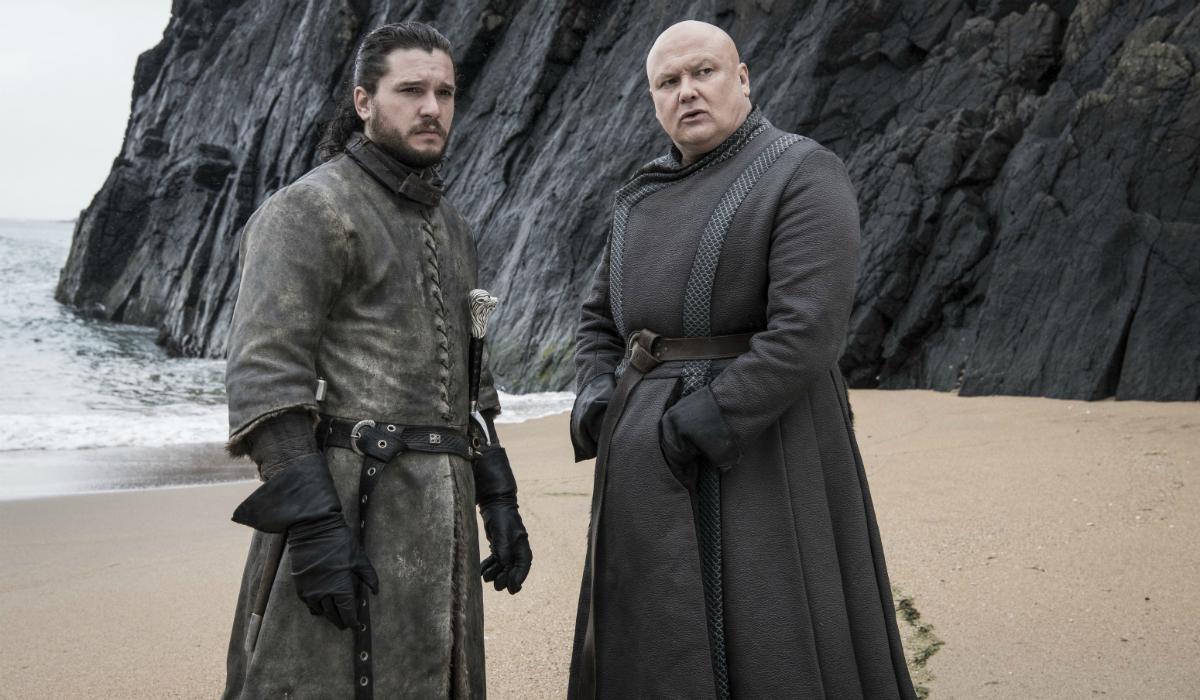 Game of Thrones Jon Snow Kit Harington Varys Conleth Hill HBO