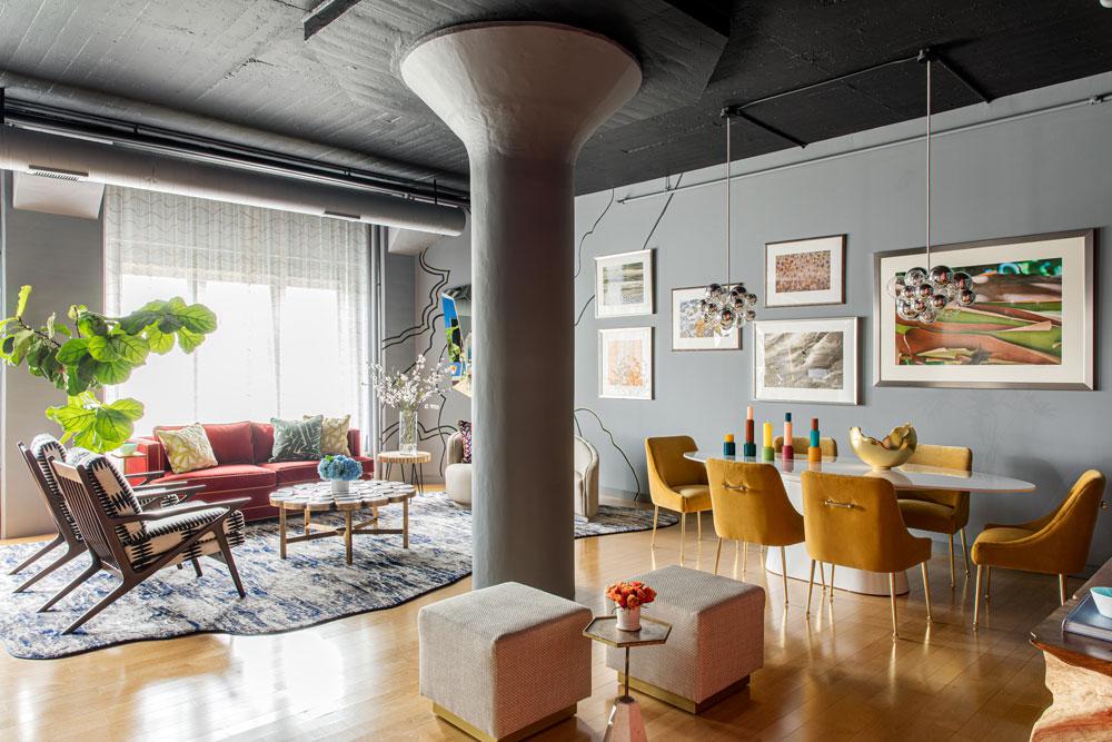 Explore An Art Deco Loft In Boston – It's A Lesson In Open Plan Living