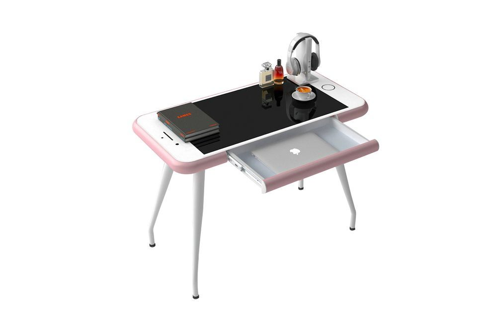 Is this Apple iPhone desk the weirdest piece of home office kit?