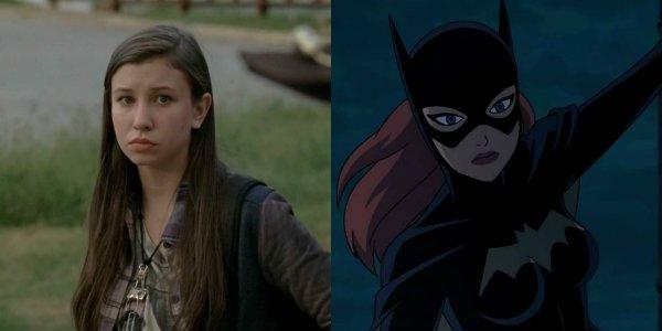 Katelyn Nacon The Walking Dead Enid Batgirl
