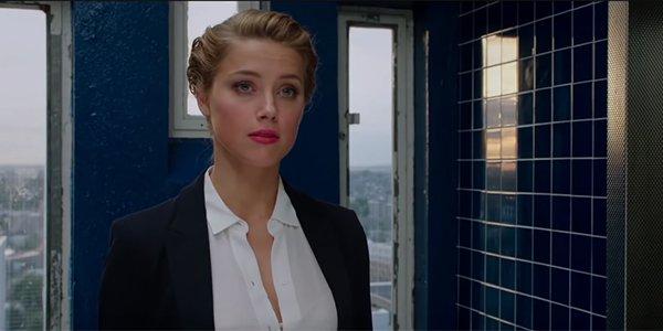 Amber Heard's Nicola Six in London Fields