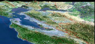 San Francisco earthquake faults