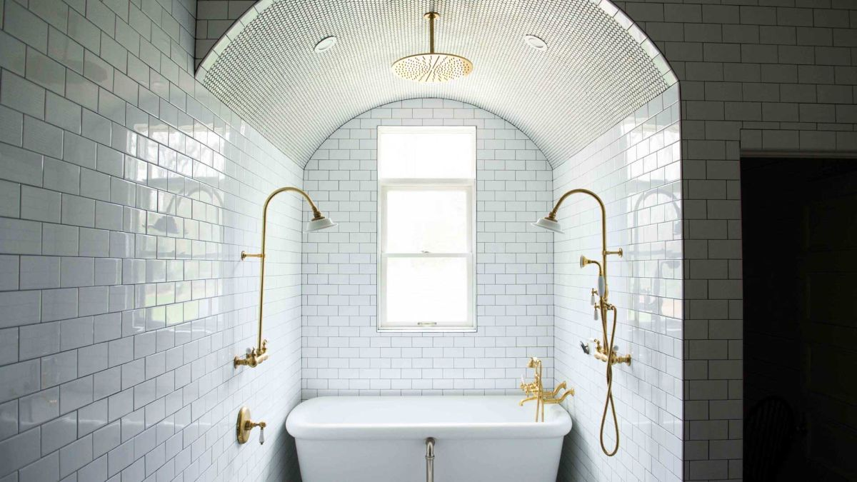 These stunning shower room ideas are drenched with style