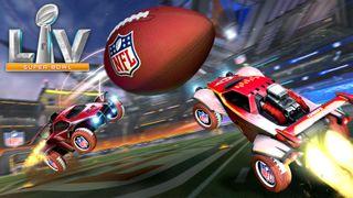 Rocket League NFL art.