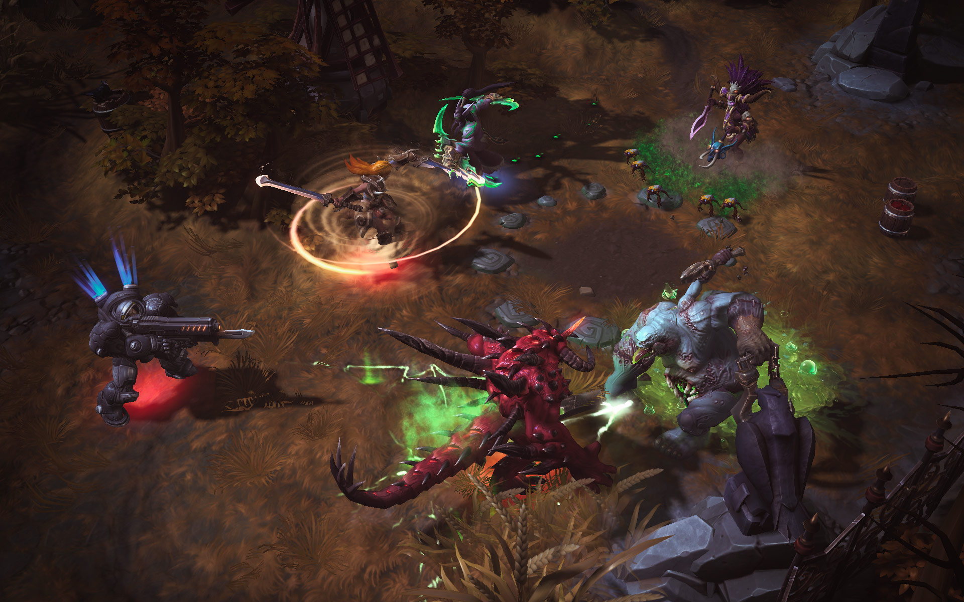 Heroes Of The Storm: Universes Collide In First Gameplay Trailer And Screenshots #29624