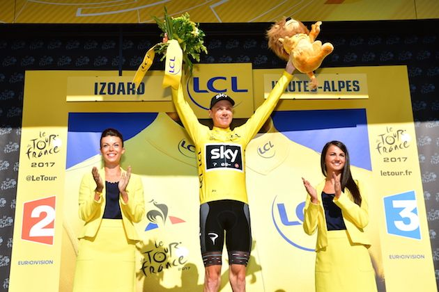 Chris Froome poised to win fourth Tour de France title