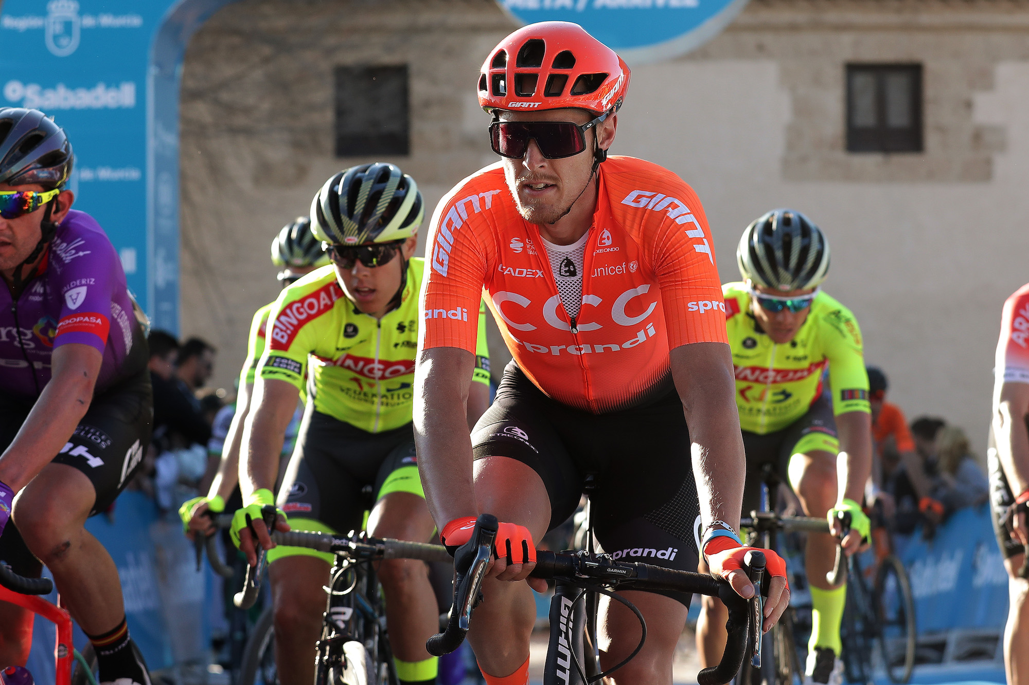 'The descent was far from safe': Matteo Trentin criticises Vuelta a Murcia finish - Cycling Weekly