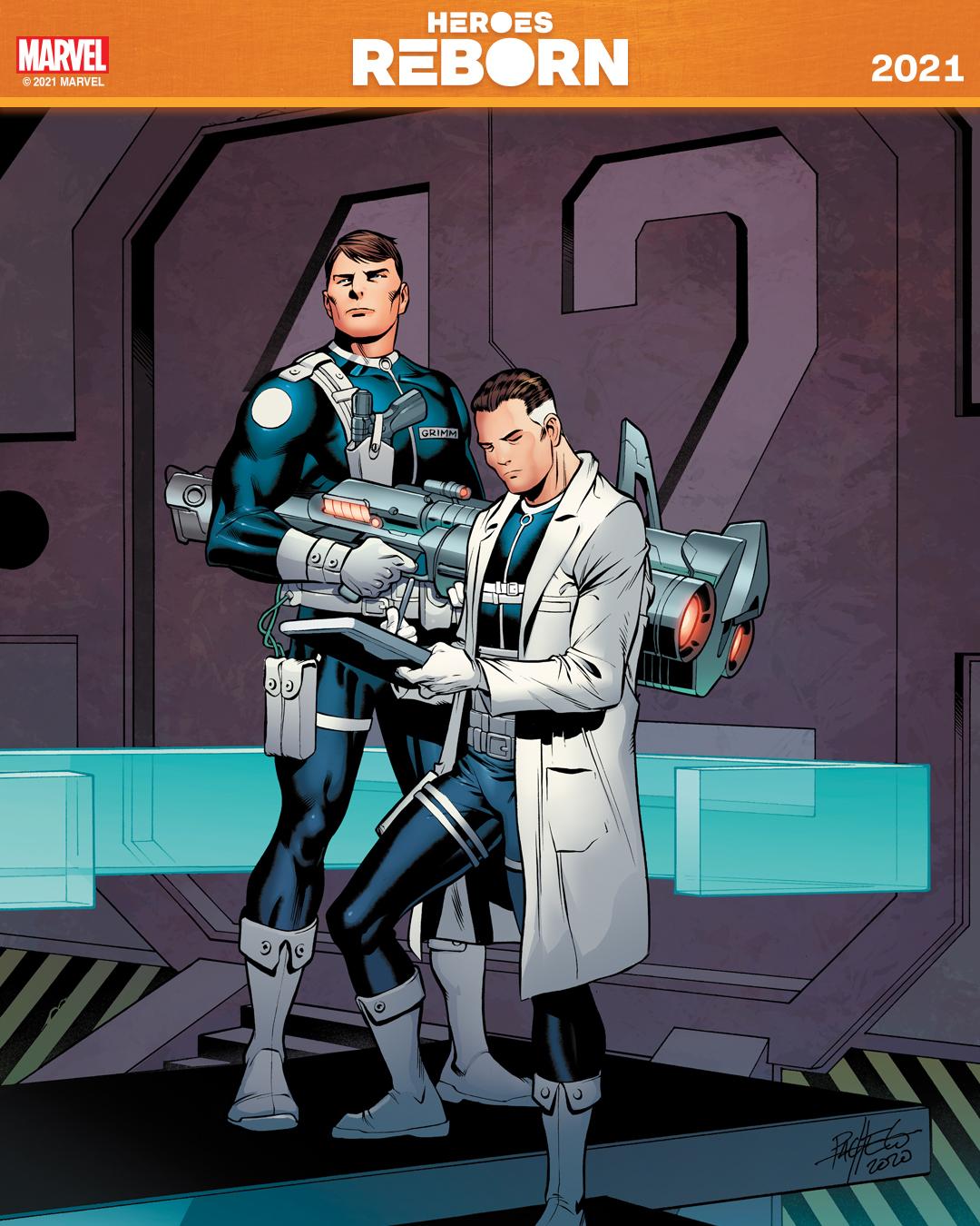 Héroes nacidos de nuevo 2021