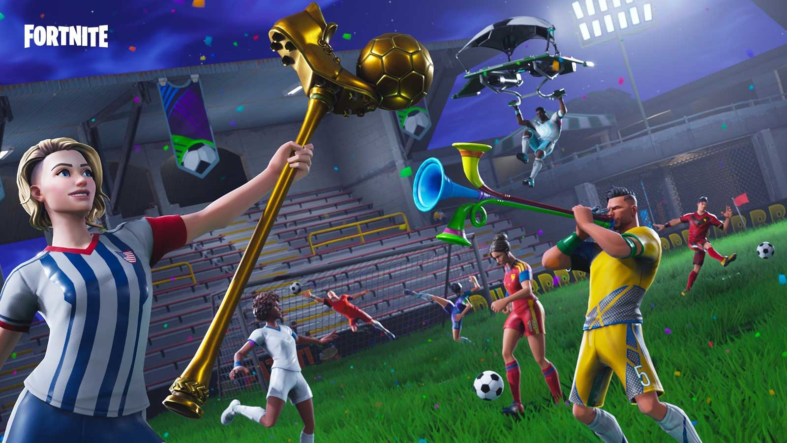 Fortnite Celebrates The World Cup With A Stadium And New Items Techradar